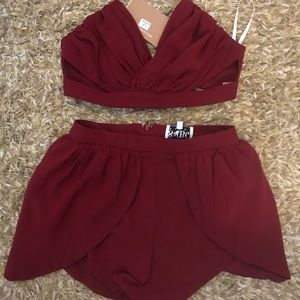 *NEW W TAGS* Sabo Skirt two-piece size small